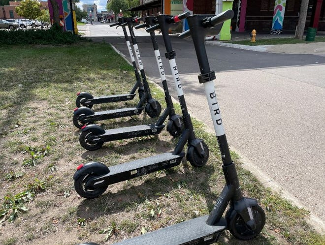 Bird scooters are proving to be a hit among Rockford riders. The electric scooter company arrived in the city in June.