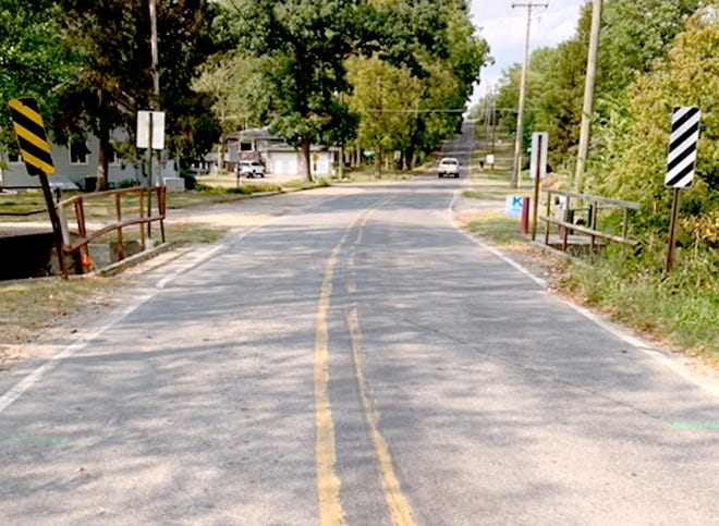 The 19-foot-long Klinger Lake Road bridge over Sherman Mill Creek will be replaced during a project that starts Sept. 15. The stretch of Klinger Lake Road will be closed for six weeks.