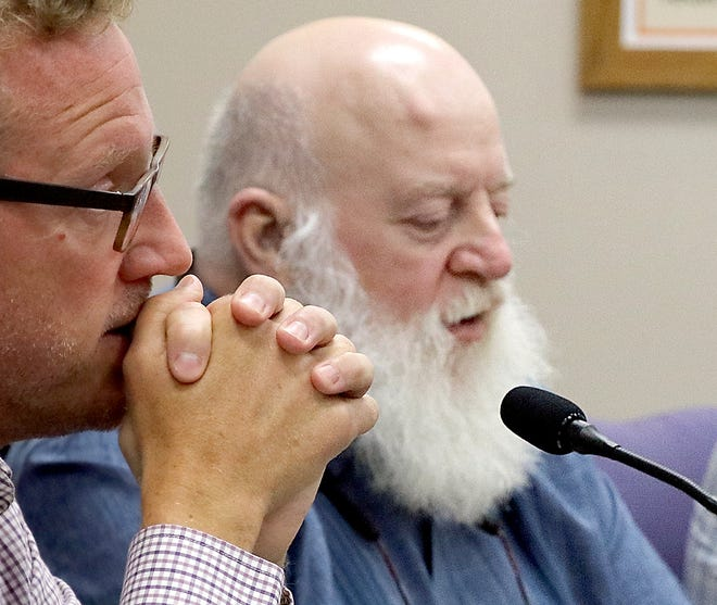 Jon Good speaks at a Sturgis City Commission meeting in July 2021. Good died Sept. 10, following a brief illness. He is being remembered as a passionate commissioner who believed strongly in making Sturgis a better place in which to work and live.