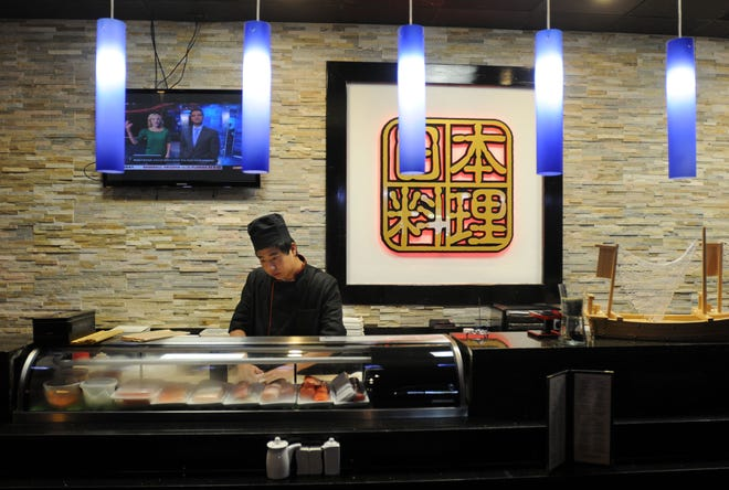 Blue Asia Asian Bistro in Wilmington is among those restaurants that are closing in September 2021. STARNEWS FILE PHOTO