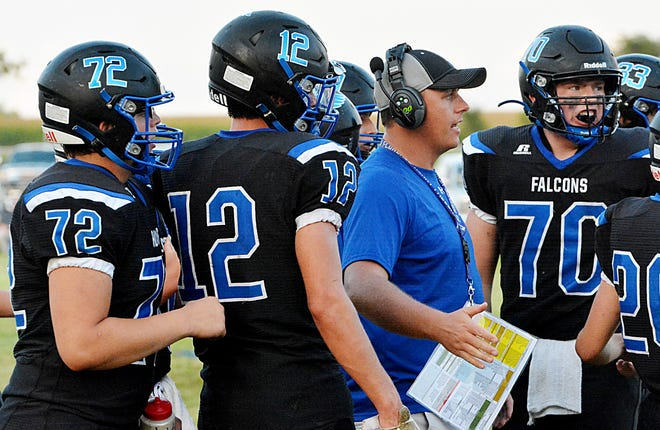 Head coach Travis Schmidt has led he Florence-Henry High School football team to a 4-0 start and a No. 4 ranking in this week's Class 9AA poll. Florence-Henry's volleyball team is also unbeaten and received votes in this week's Class A poll.
