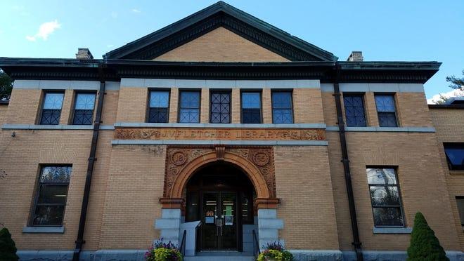 A book bag sale is set for Sept. 18 at the J.V. Fletcher Library in Westford.
