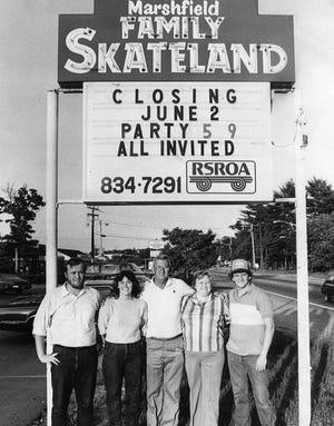 Marshfield Family Skateland closed in 1985.