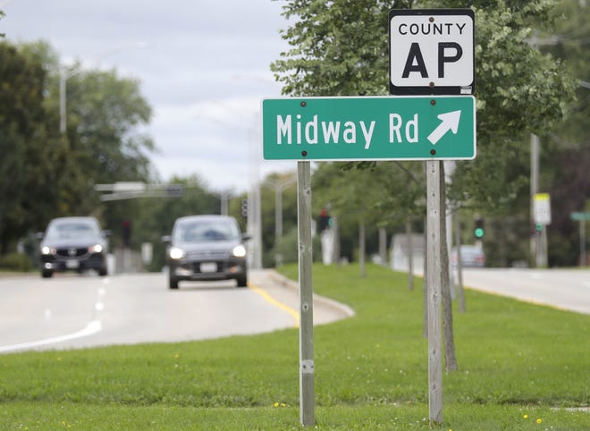 Midway Road, shown here in Appleton, also is known as County AP.