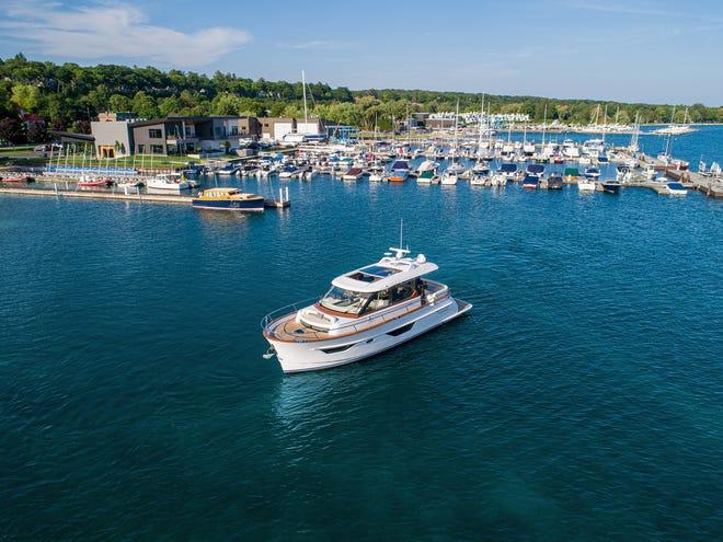 The Burger Boat Company's new 50 Cruiser