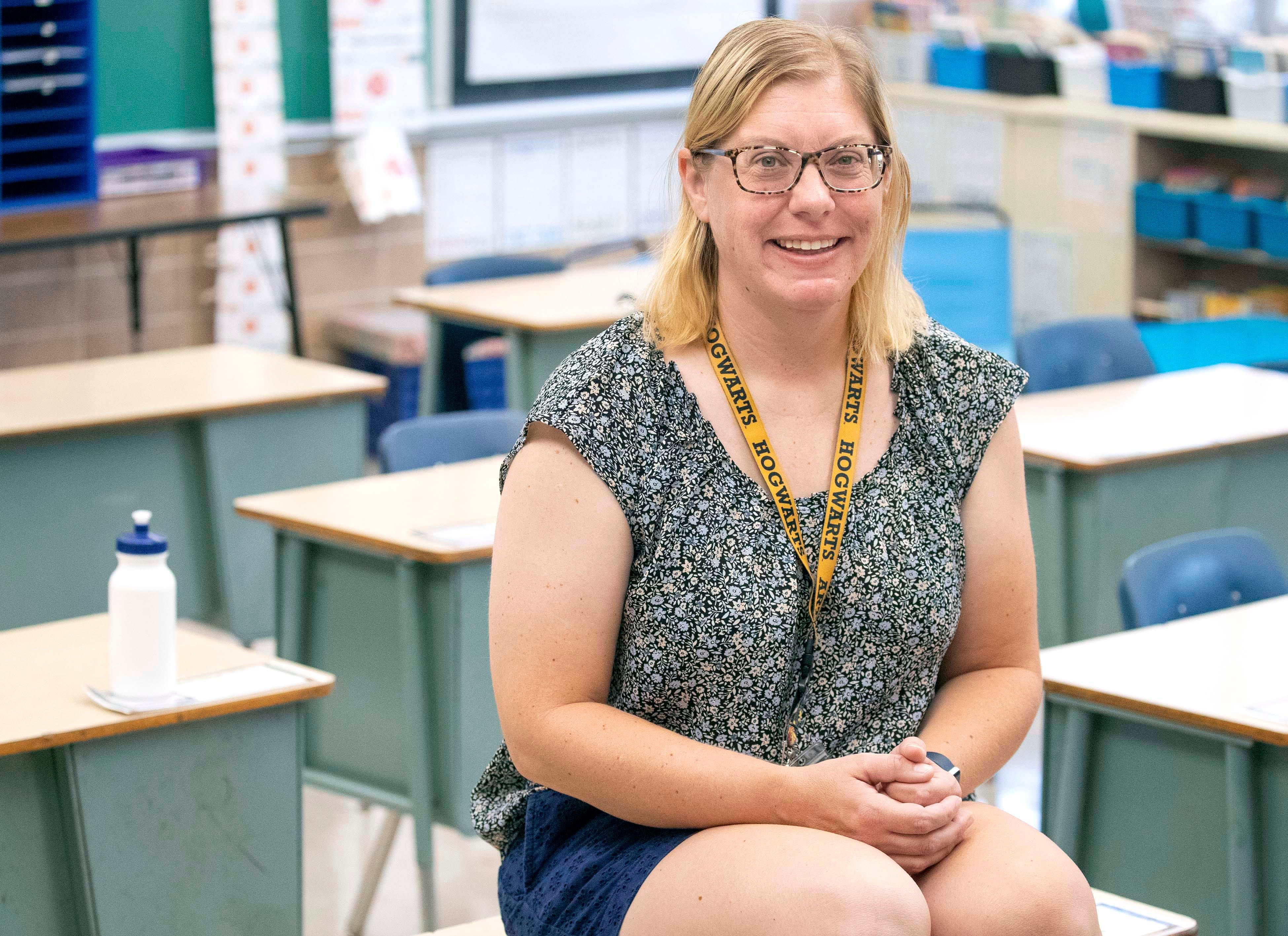 Jessica Borkowski is a Master Teacher at Northwest Catholic School. She teaches fifth grade but had taught kindergarten for several years at the school. Her K5 class was among the first to take part in Fund My Future Milwaukee, which opens a 529 college savings account with a $25 initial deposit.