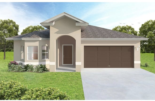 Located at 7103 Everglades Boulevard, the Paraiso is a three-bedroom plus den, two-bath home with 1,600 air-conditioned square feet.
