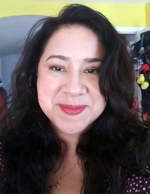 Lori Alvarez, co-owner of the Bossy Gourmet brand of New Mexico chile sauces.