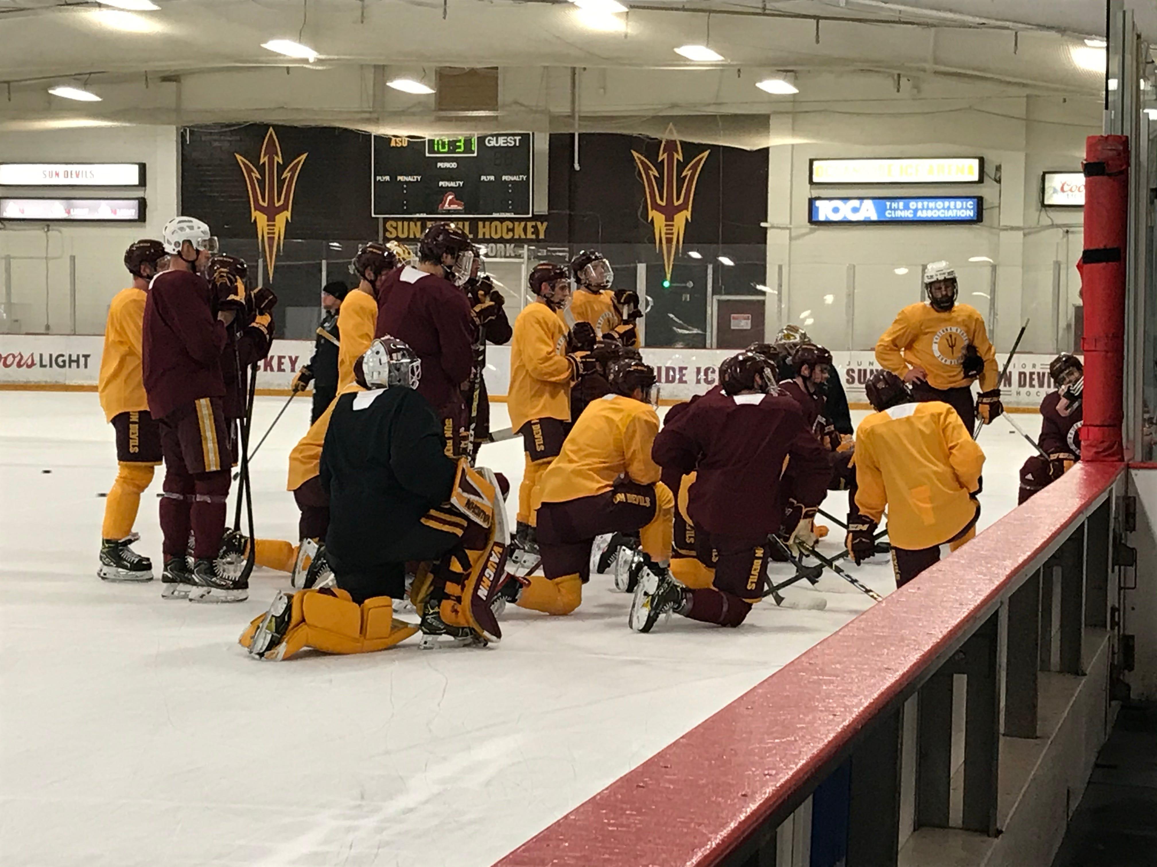 ASU hockey coach Greg Powers on expectations for season