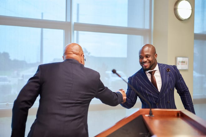 Caddo-Bossier Port Commission welcomed a new Commissioner: Joshua K. Williams