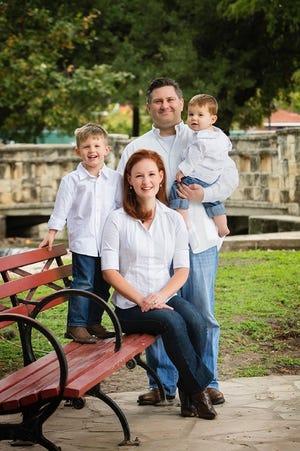 David Barranco and family