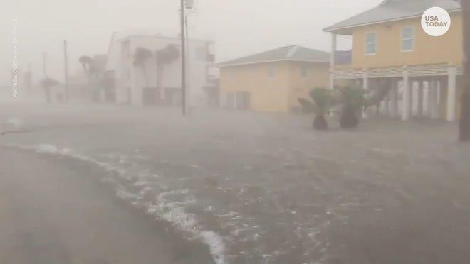 Nicholas slams Texas coast with torrential rain