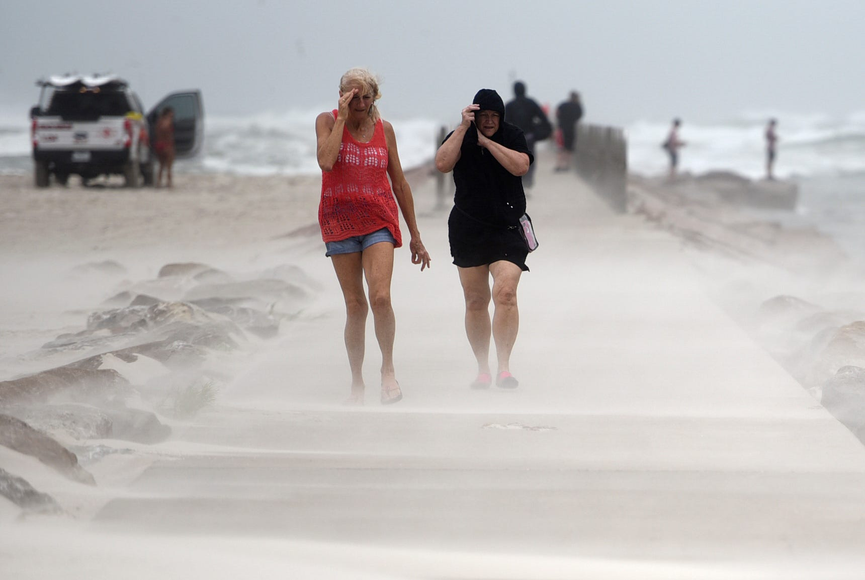 Nicholas hits Texas coast, but weakens in strength; could still bring  life-threatening  flash flooding in the South
