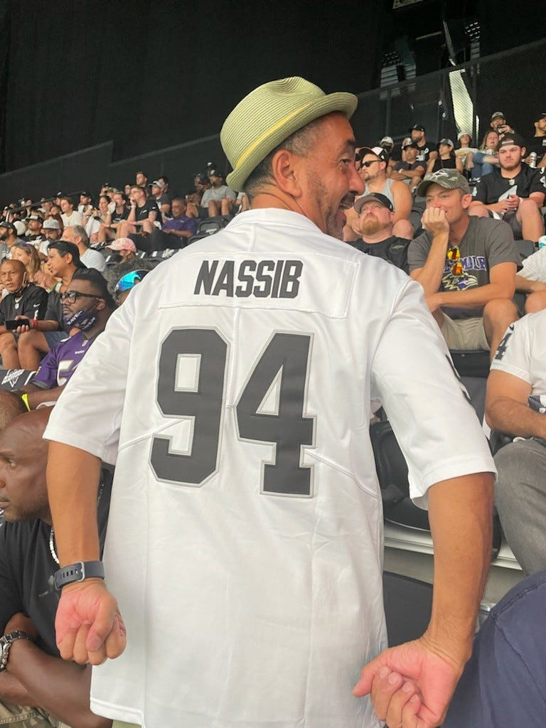 Fan at Raiders game to support openly gay DE Carl Nassib:  When he came out, it struck a chord