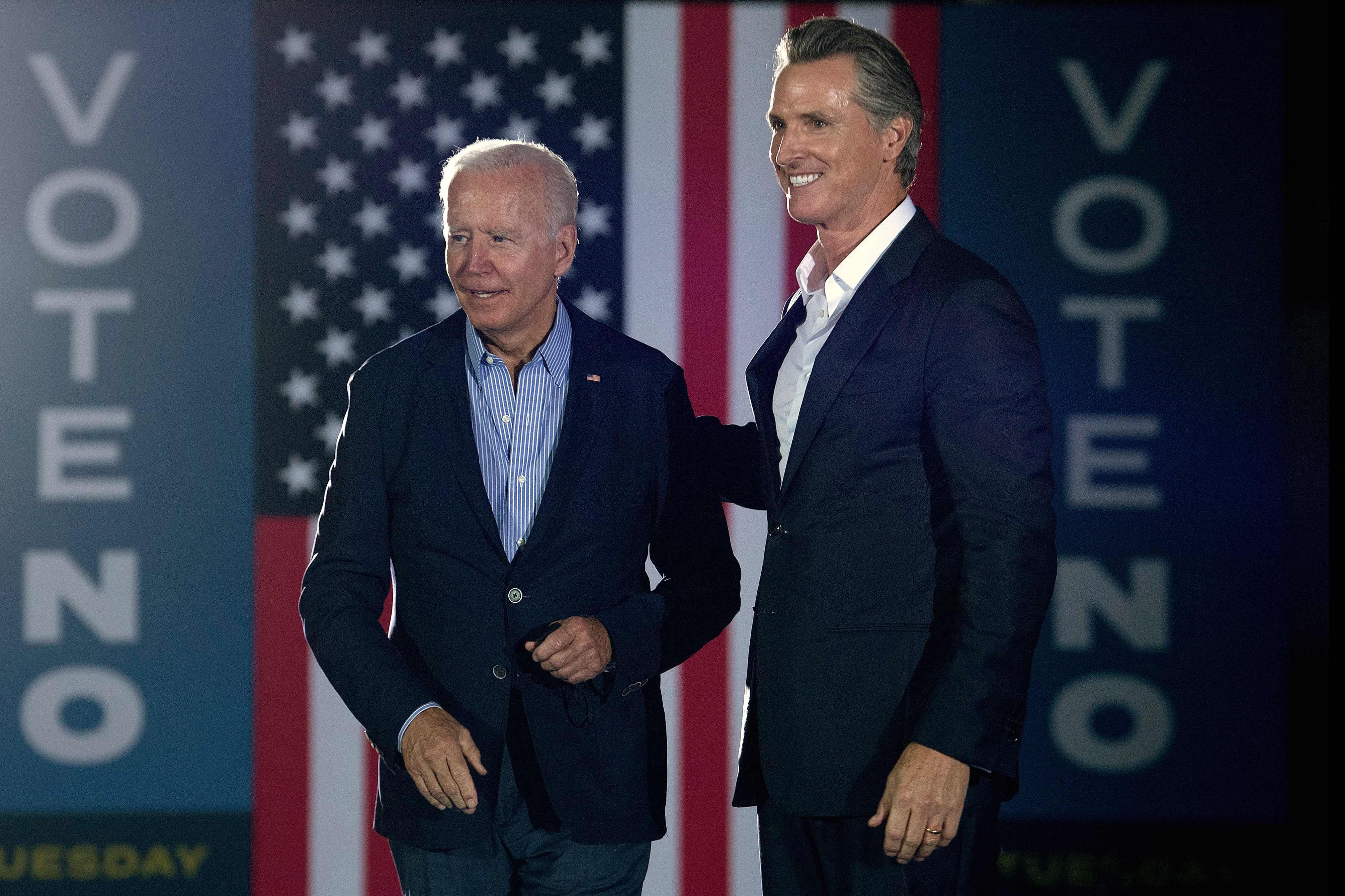 The polls are open in California: Gov. Gavin Newsom seeks to fend off Larry Elder in recall election