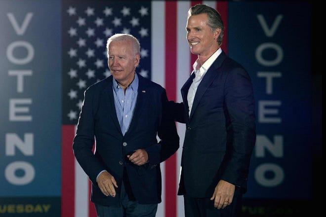 Election day has arrived for Gavin Newsom, Larry Elder