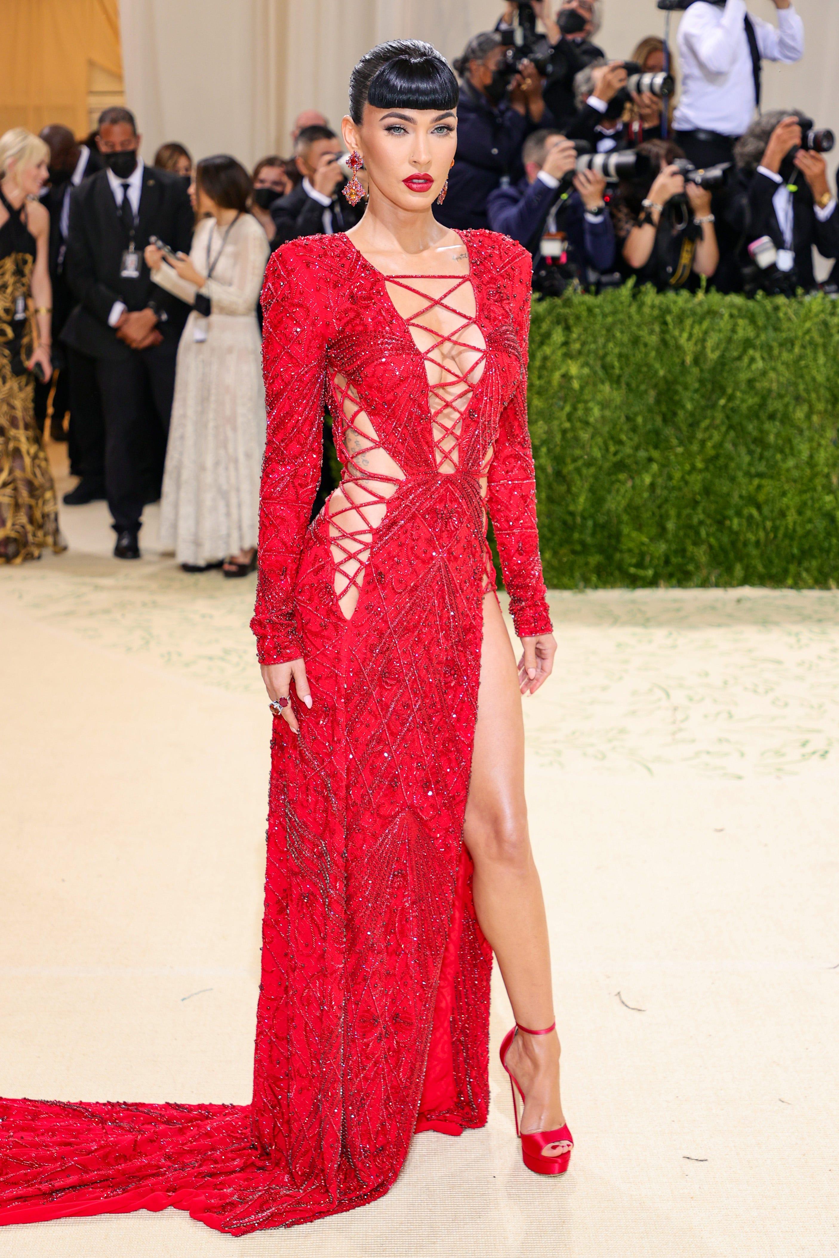 Met Gala 2021: Megan Fox, Rihanna, Kim Kardashian, AOC, more wild red-carpet looks