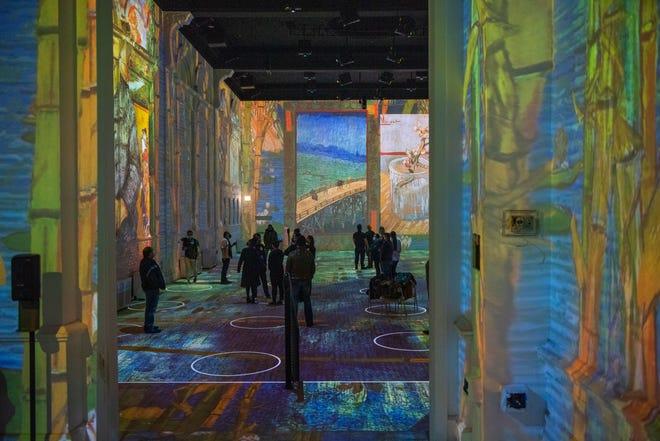 The Immersive Van Gogh Exhibit will open in Cleveland.