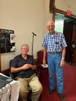 Thanks to Stacey Wyant and Phil Pearce for their work with Bluff Point Methodist's IT and recording efforts at church.