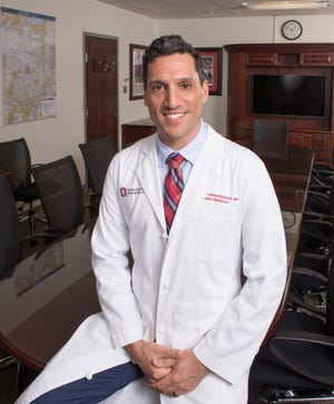 Dr. Iahn Gonsenhauser, the chief quality and patient safety officer at the Ohio State University Wexner Medical Center