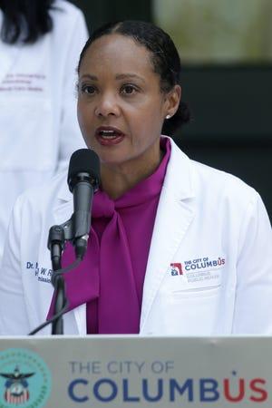 City of Columbus Health Commissioner Dr. Mysheika W. Roberts