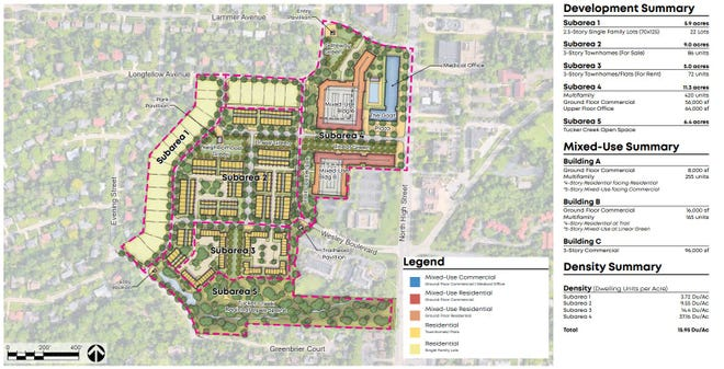 The latest plan for the United Methodist Children's Home property in Worthington includes about 600 residences along with commercial space.