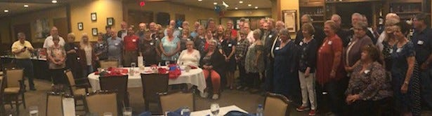 The West Holmes High School class of 1970 recently met for its 50-year reunion.