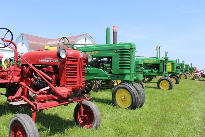 Dozens of antique and vintage tractors were on display May 2019, at the annual Farmers Antique Tractor and Engine Association spring show, held at the association's grounds along Forrister Road in Rome Township. The tractor and engine show makes its return this weekend for its fall show, after having its last three show offerings canceled because of the COVID-19 pandemic.