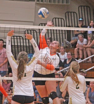 The Quincy Orioles fell to Reading in Big 8 play on Tuesday