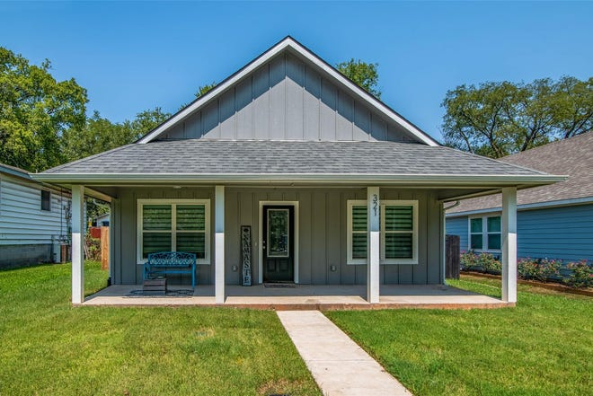 The home at 321 West Johnson Street is currently listed for $224,900