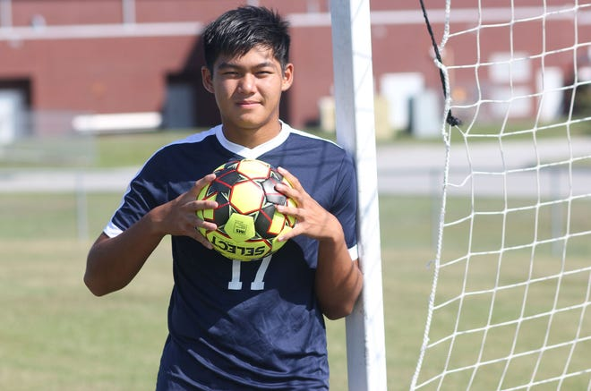 Darrick Zhang is in his third year as a starter for the Northside soccer team. He has emerged as one of the key players for the Monarchs, who are off to a solid start to the season.