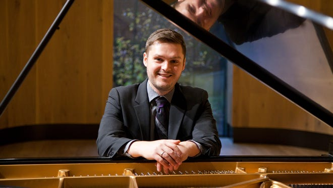 Mark Stevens, D.M.A., director of keyboard studies and assistant professor of piano at South Dakota State University, Brookings, will present a solo recital Sept. 17 at 7 p.m., in the Administration Building chapel.
