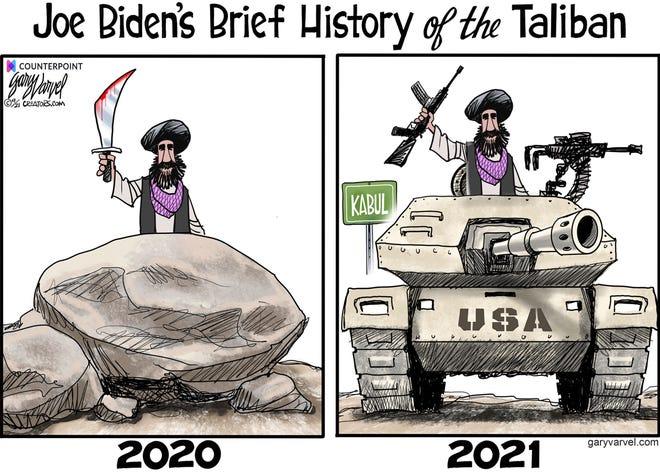 Today's editorial cartoon Sept. 16 2021