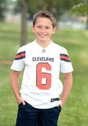 Landon Kasler, a sixth-grader at Fairless Middle School, is The Massillon Independent's Kid of Character for September.