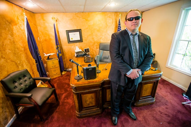 James Lockwood poses for a portrait Wednesday Sept. 15, 2021 at his home law office in South Bend.