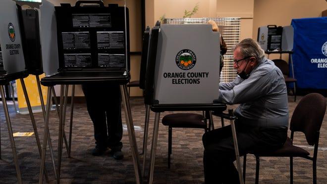 Polls close for Gavin Newsom and Larry Elder