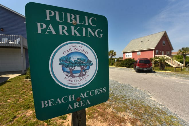 The Oak Island town council members discussed paid parking at an annual council retreat. The council declined to take up the issue this year.