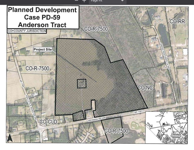 The Brunswick County planning board approved hundreds of housing units for the Calabash area.