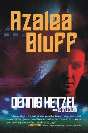 """Azalea Bluff"" is a new thriller by Holden Beach resident Dennis Hetzel."
