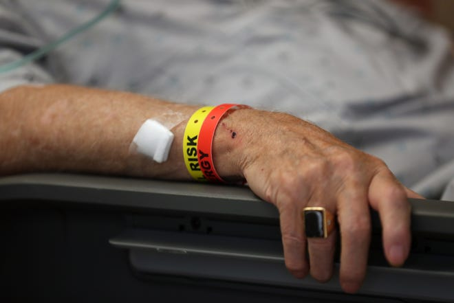 New COVID-19 cases in Wichita County dropped dramatically Tuesday while hospitalizations rose.
