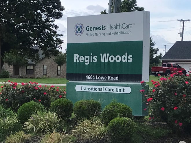 Regis Woods nursing home in Louisville is losing federal funds because of health and safety violations reported by the state, which has said it will relocate residents.
