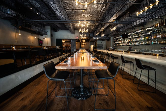 A first look inside of the Church & Union restaurant in downtown Nashville. The New American restaurant is located on 4th Avenue North between The Arcade and Printer's Alley.