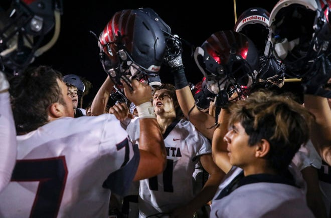 The unbeaten La Quinta High football team's Sept. 17 game against Murrieta Mesa has been canceled due to a positive case of COVID-19.