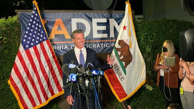 Le gouverneur Gavin Newsom remporte les élections contre Larry Elder