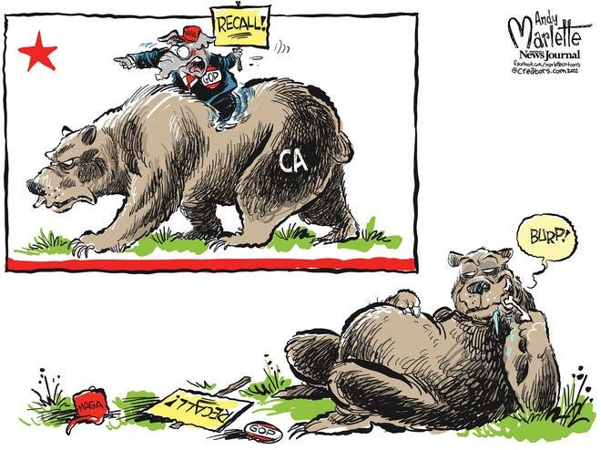Marlette cartoon: The California recall