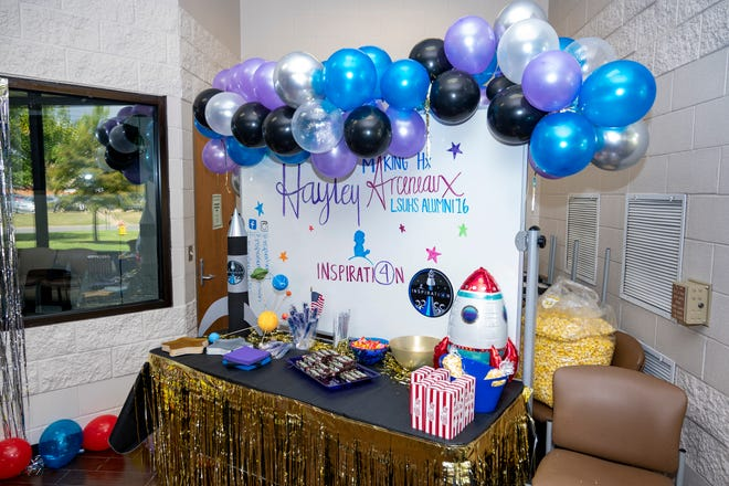 Hayley Arceneaux launch party at LSU Health Shreveport School of Allied Health Professions
