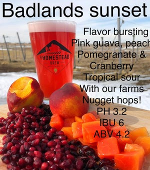 Badlands Sunset Sour from A Homestead Brew