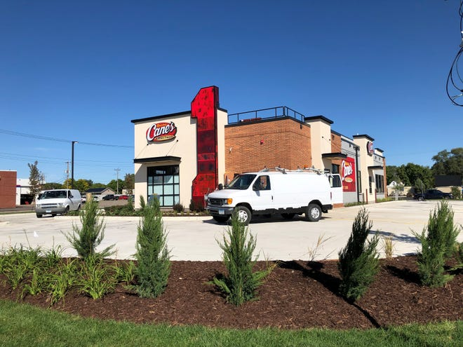 Raising Cane's in St. Cloud, pictured Sept. 15, 2021, will open Oct. 12.