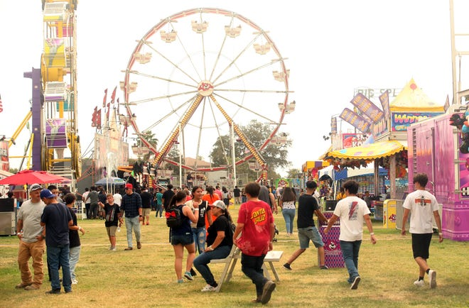 Tulare school kids were given the day off and allowed free entry to the Tulare County Fair on Sept. 14, 2021. The first day of the fair began with the Tulare County Fair Parade through downtown Tulare.