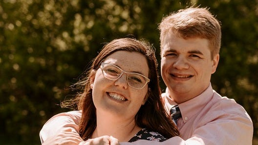 Sarah and Henry Steele IV. Henry, 29, died Sept. 10 in a two-vehicle car crash in Archer County. A GoFundMe account is set up to help his family.